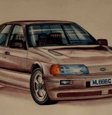 """Ford Sierra Cosworth"""
